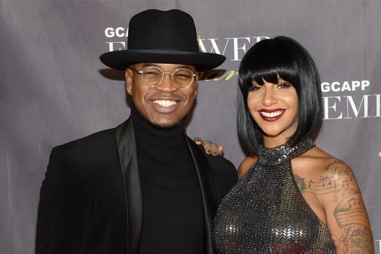 Ca sĩ Ne-Yo và vợ Crystal Smith. Ảnh: Essence.