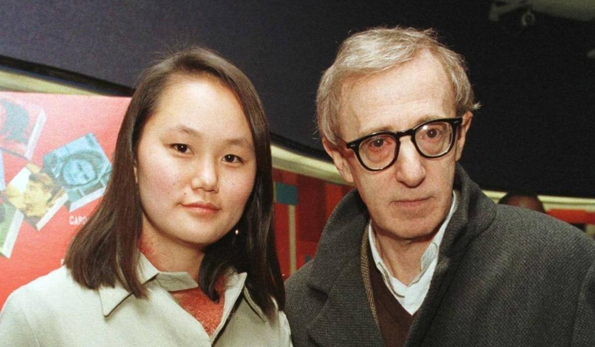 Woody Allen và vợ Soon-Yi. Ảnh: Reuters.