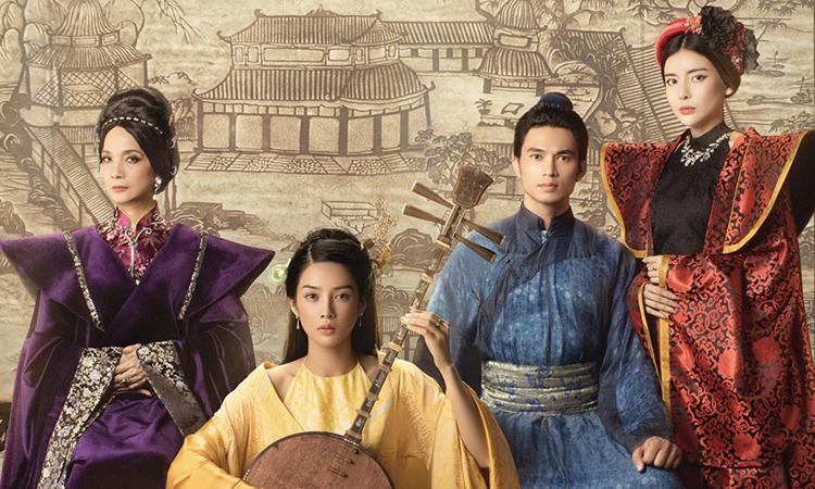Phim Kiều quy tụ dàn diễn viên hai miền như Lê Khanh, Cao Thái Hà, Mỹ Duyên... Ảnh: Tincom.