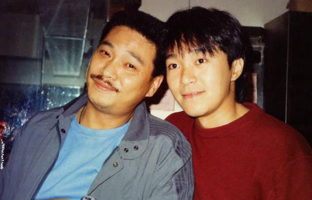 Ngô Mạnh Đạt (trái) và Châu Tinh Trì. Ảnh: On.