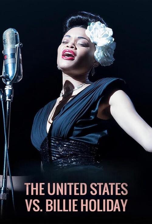 Poster The United States VS. Billie Holliday. Ảnh: Medium.