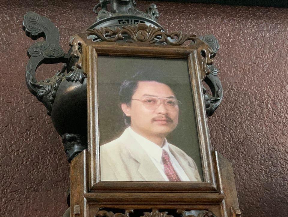 Di ảnh nghệ sĩ Văn Thành. Ảnh: Hoàng Huế.