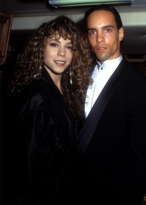 Mariah Carey và anh trai Morgan (phải). Ảnh: Mariah Carey Fandom.
