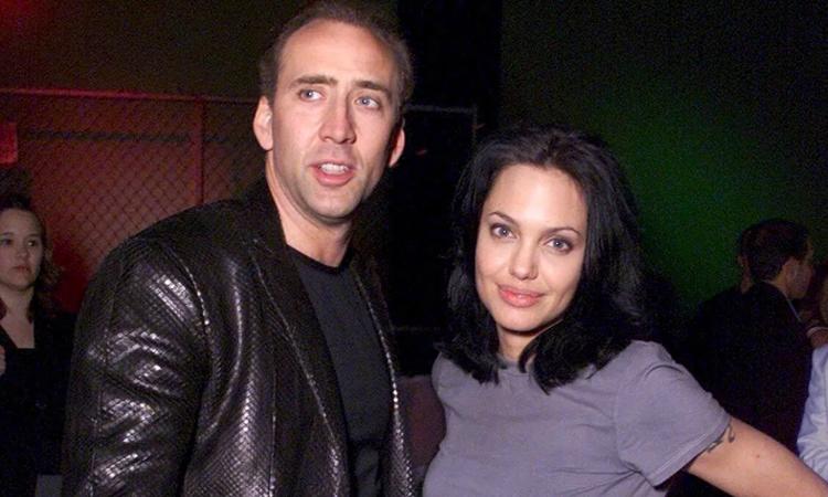 Năm 2003, Cage và Angelina Jolie bị đồn hẹn hò nhưng không lên tiếng về mối quan hệ. Hai người quen khi đóng chung dự án phim Gone in 60 Seconds năm 2000.