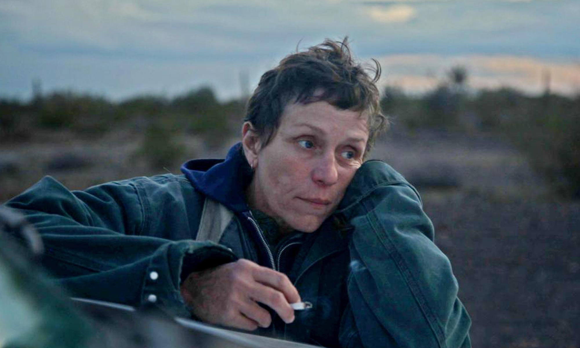 Frances McDormand là nữ chính phim Nomadland.