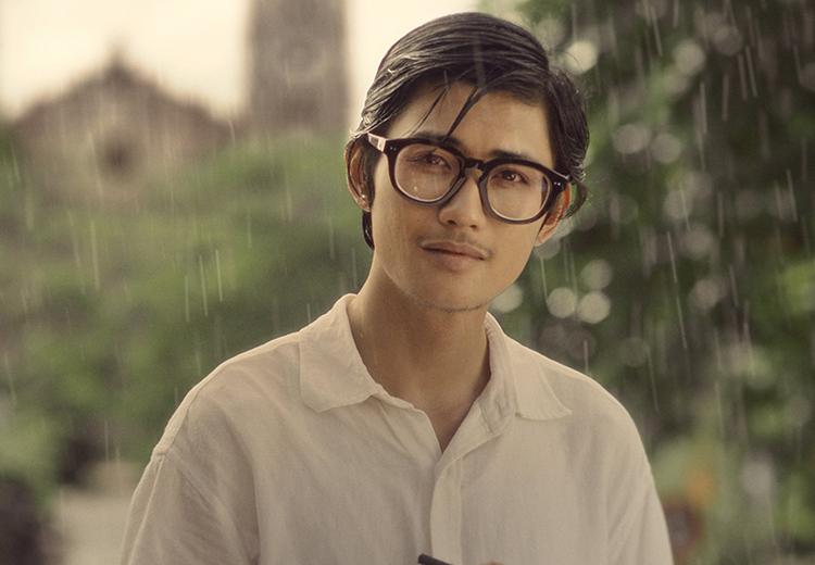 Avin Lu vào vai Trịnh Công Sơn thời trẻ. Ảnh: Galaxy.