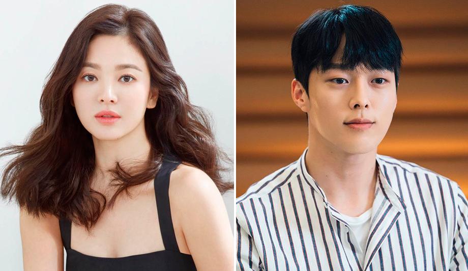 Hye Kyo và Ki Yong lần đầu hợp tác. Ảnh: Elle.