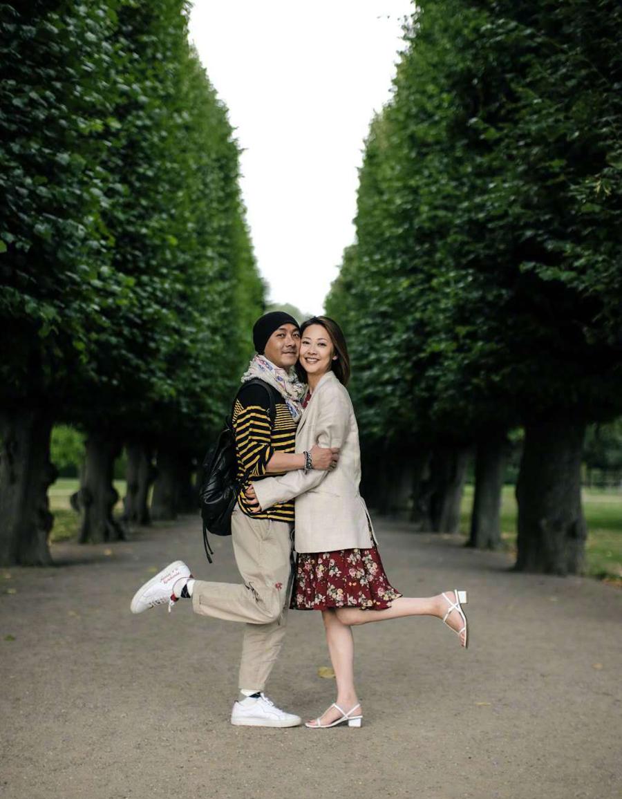 Trương Vệ Kiện gặp vợ sau hơn 500 ngày