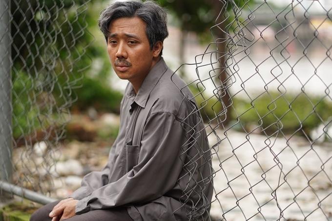 Trấn Thành đóng ông Sang - người bố đơn thân khắc khổ trong Bố già, Ảnh: Galaxy.