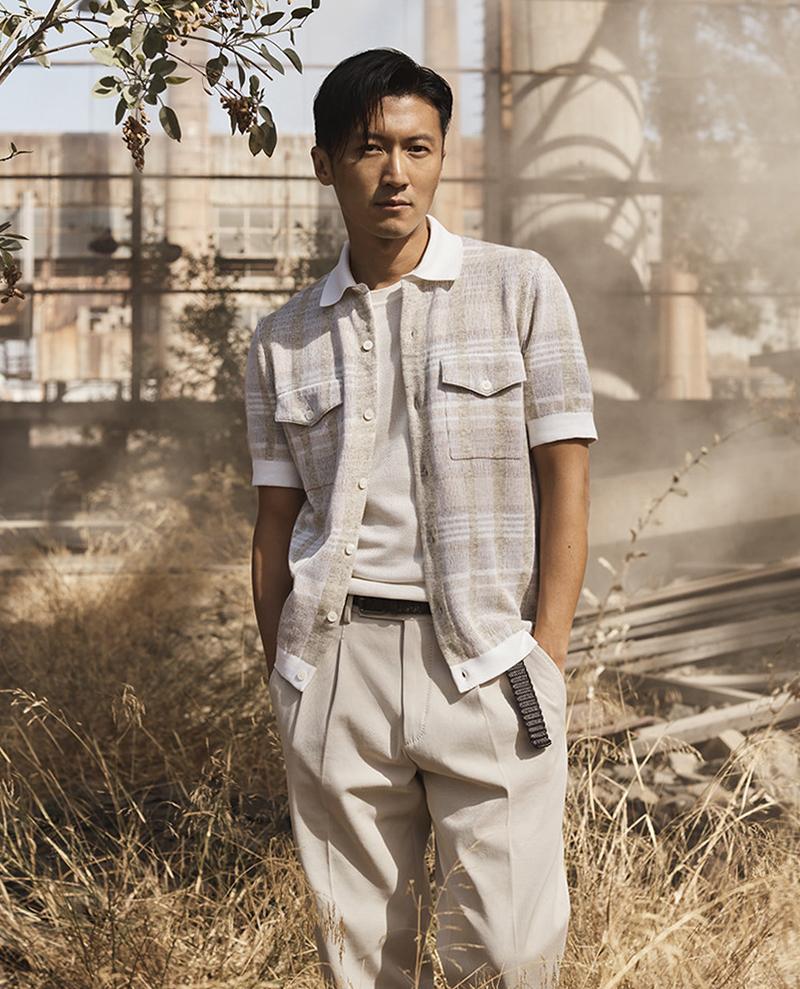 Tạ Đình Phong được nhiều tạp chí thời trang khen phong độ tuổi tứ tuần. Ảnh: Sina.
