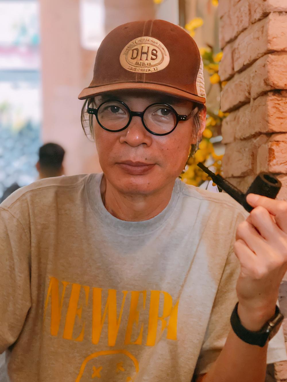 Trần Lực tại Sài Gòn những ngày cuối quay phim về cuộc đời Trịnh Công Sơn - nhân 20 năm ngày mất của nhạc sĩ (1/4/2001 - 1/4/2021). Ảnh: Mai Nhật.