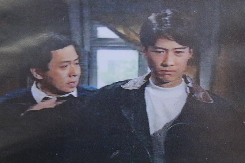 Hạ Ngọc Lân (trái) và Lê Minh trong phim Đời không hối tiếc của đài TVB. Ảnh: Mpweekly.