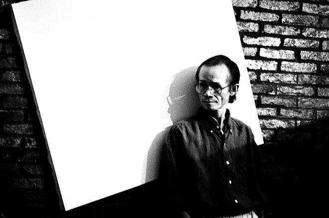 Nhạc sĩ Trịnh Công Sơn qua ống kính nhiếp ảnh gia Dương Minh Long.