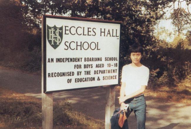 Trương Quốc Vinh lớn lên trong gia đình trung lưu ở Hong Kong, sang Anh du học năm 13 tuổi. Ảnh: RTV.