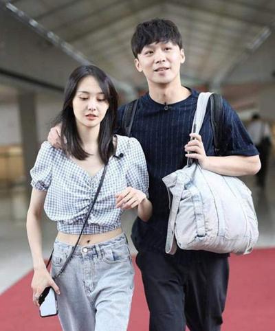 Trịnh Sảng, Trương Hằng khi còn yêu nhau. Ảnh: 163.