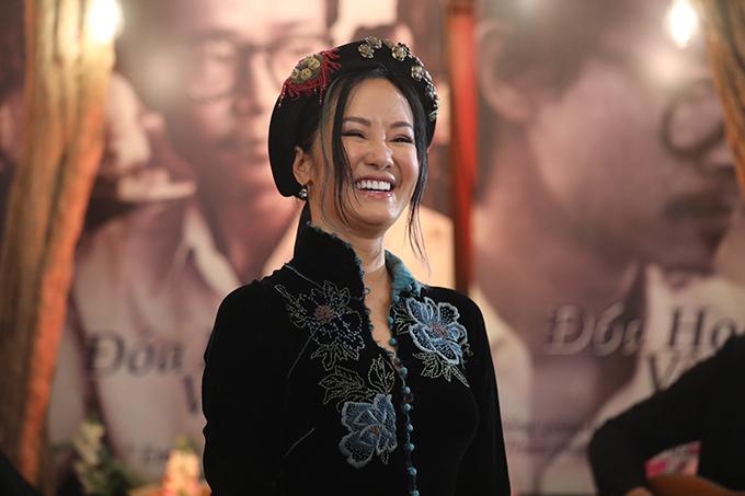 Ca sĩ Hồng Nhung hát bài Bống Bồng ơi mà nhạc sĩ sáng tác tặng riêng cô.