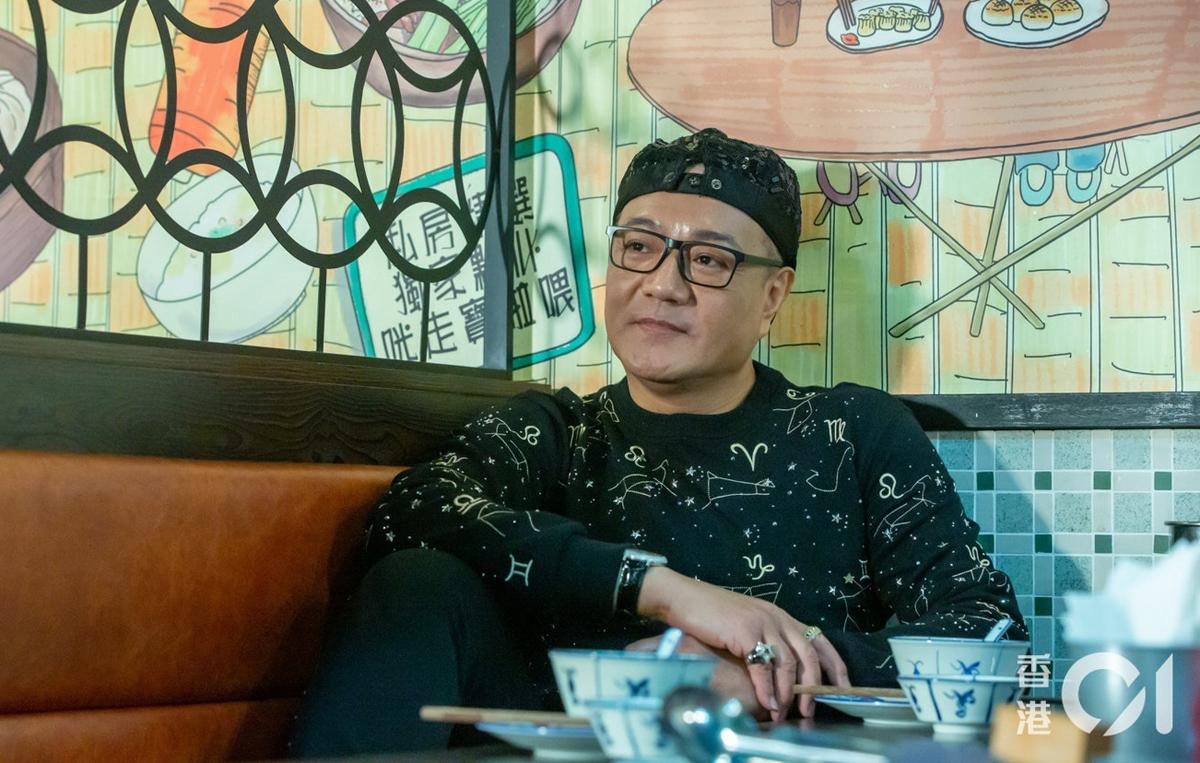 Diễn viên Lỗ Chấn Thuận. Ảnh: HK01.