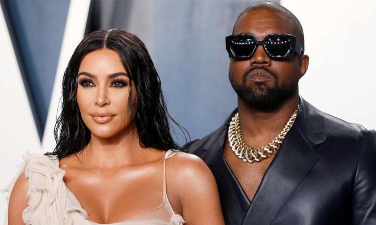 Vợ chồng Kim Kardashian - Kanye West đều được Forbes công nhận là tỷ phú. Cặp sao mới đâm đơn ly dị hồi đầu năm. Ảnh: AFP.