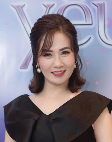 Diễn viên Nguyệt Hằng ở tuổi 48. Ảnh: Nguyễn Tùng.