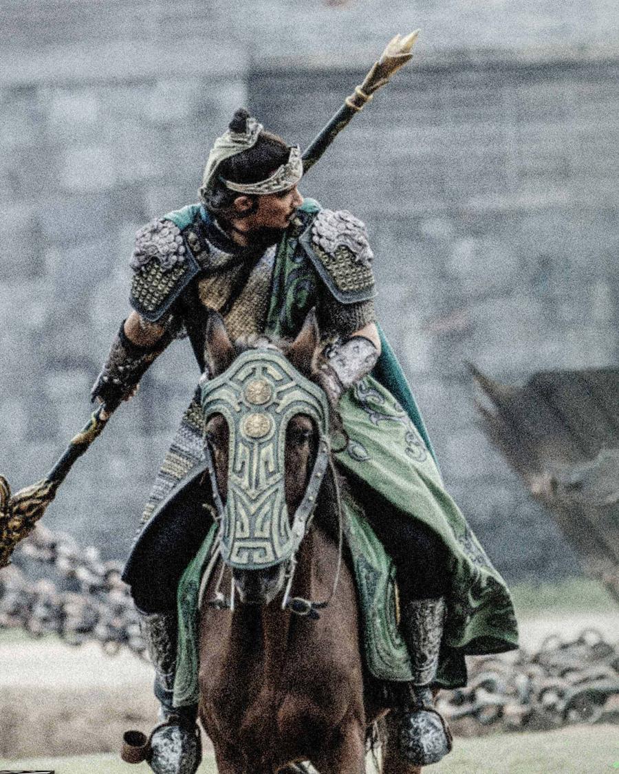 Anh bị nhiều khán giả chê thiếu sức sống khi đảm nhiệm võ tướng oai phong như miêu tả trong tiểu thuyết Tam Quốc diễn nghĩa của La Quán Trung.