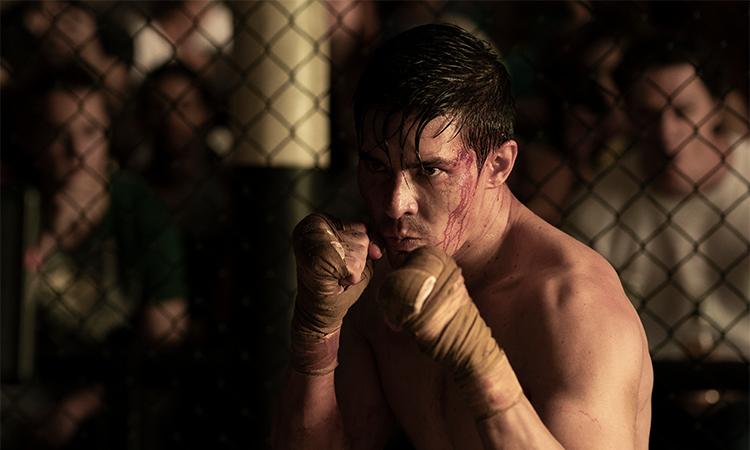 Nhân vật chính Cole Young (Lewis Tan đóng) không để lại nhiều dấu ấn trong phim. Ảnh: CGV.