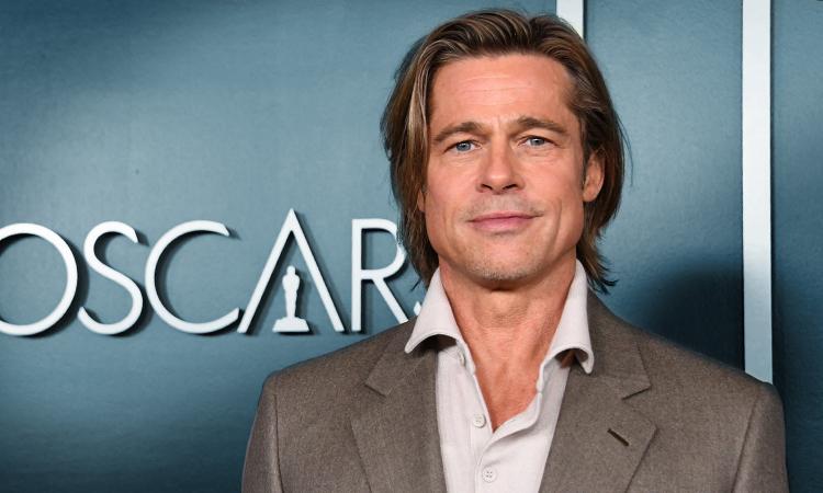 Tài tử Brad Pitt tại sự kiện trước lễ trao giải Oscar năm 2010. Ảnh: Washington Post.