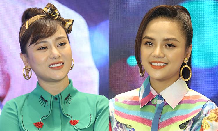 Diễn viên Phương Oanh (trái) và Thu Quỳnh. Ảnh: VFC.