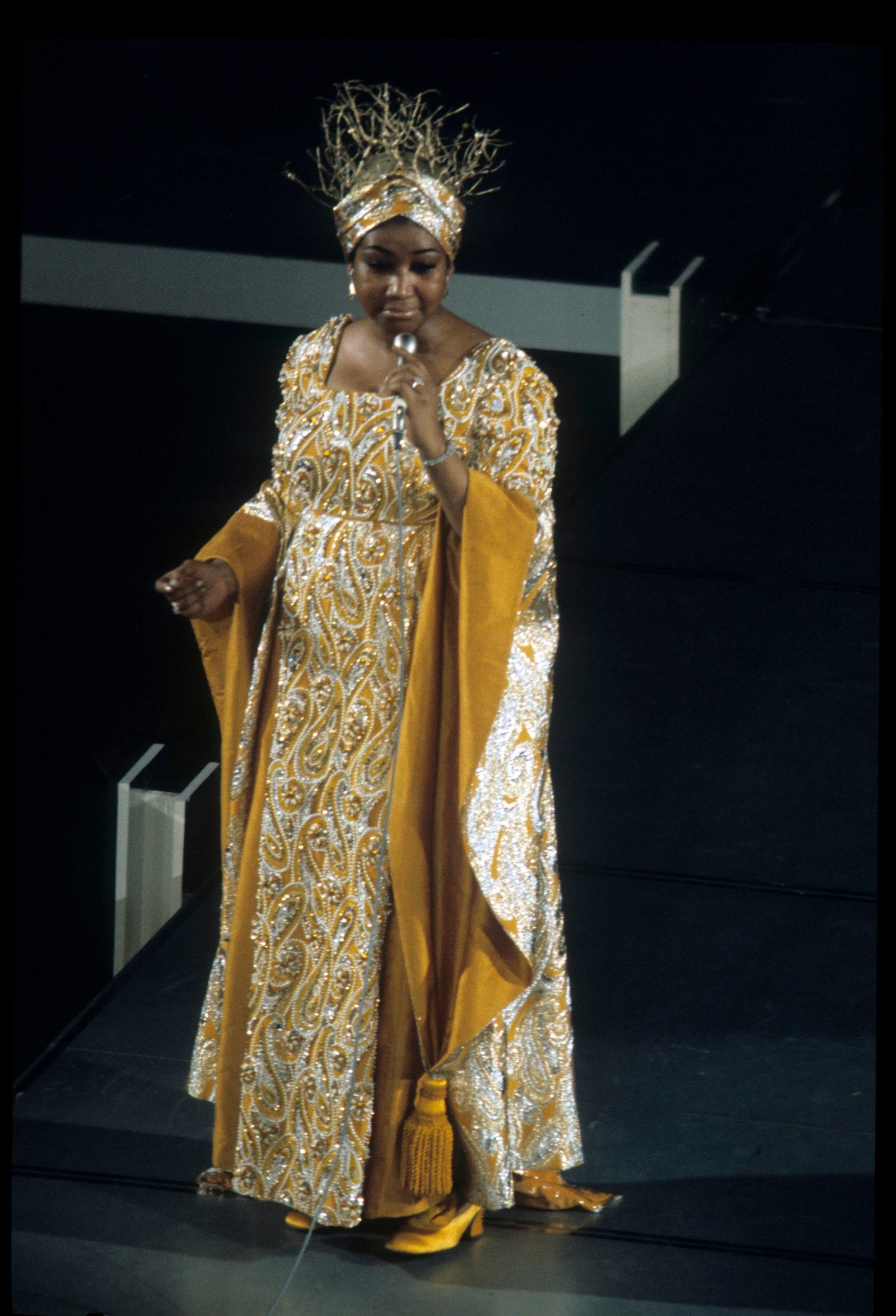 Ca sĩ Aretha Franklin, 1969