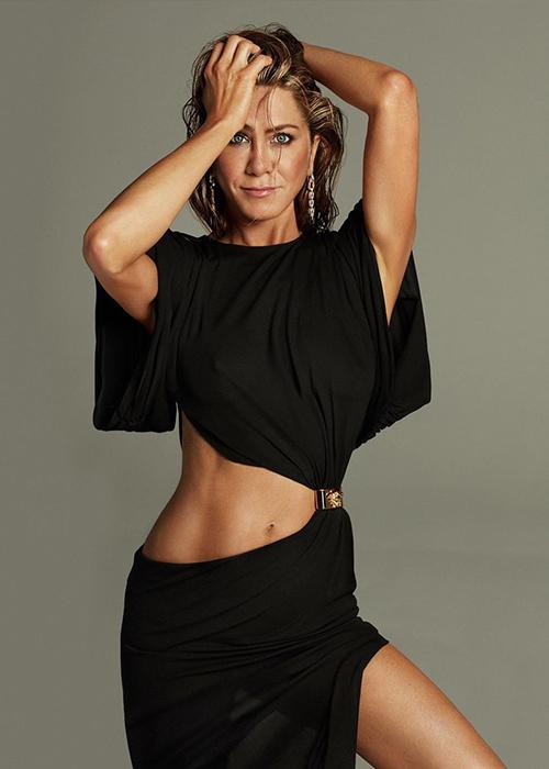 Jennifer Aniston ở tuổi ngũ tuần. Ảnh: Interview Magazine.