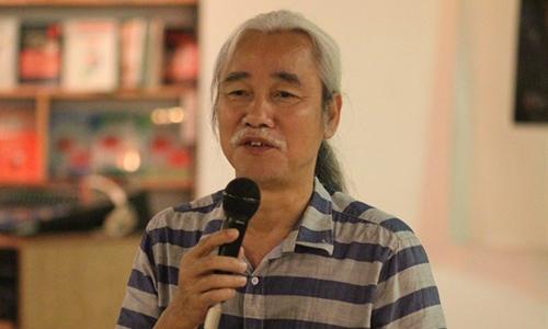 Nhà phê bình văn học Phạm Xuân Nguyên - Chủ tịch Hội Nhà Văn Hà Nội khoá XI (2011 - 2015). Ảnh: Vĩ Thanh.