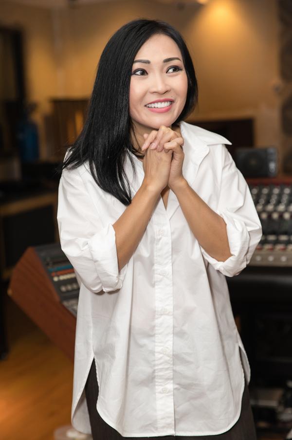 Chiều 20/4, Phương Thanh ra mắt album mới Trống vắng tại TP HCM. Ảnh: Lê Huy.