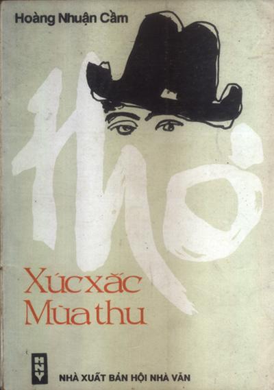 Tuyển tập Xúc xắc mùa thu của Hoàng Nhuận Cầm, xuất bản năm 1992. Ảnh: Nhà xuất bản Hội Nhà văn.