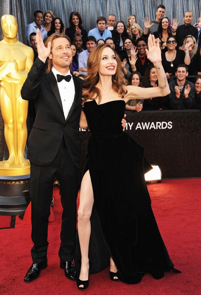 Năm 2012, Brad Pitt and Angelina Jolie khuấy động thảm đỏ. p;Ảnh: WireImage.