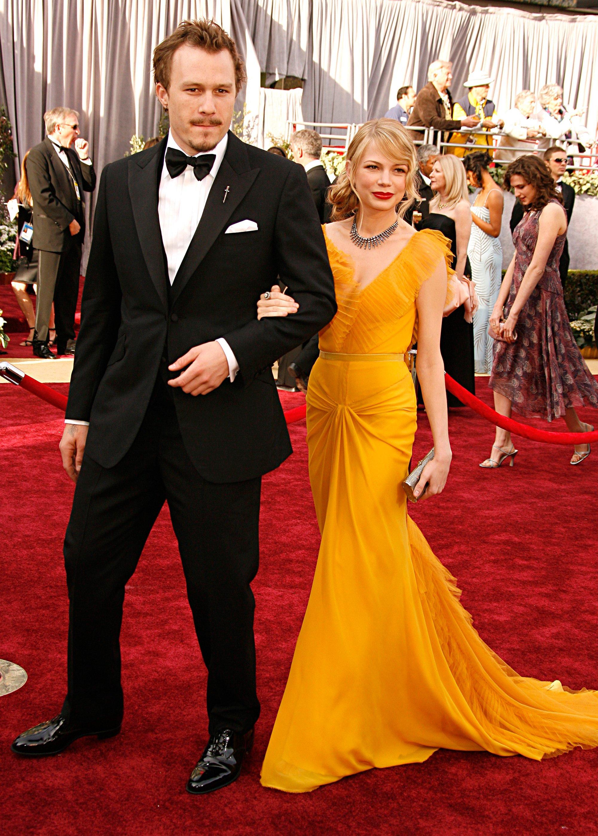 Ngọt ngào là cụm từ Vogue dành cho sự xuất hiện của đôi uyên ương Heath Ledger and Michelle Williams