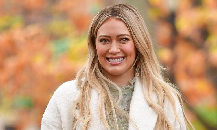 Nữ diễn viên Hilary Duff. Ảnh: Pagesix.