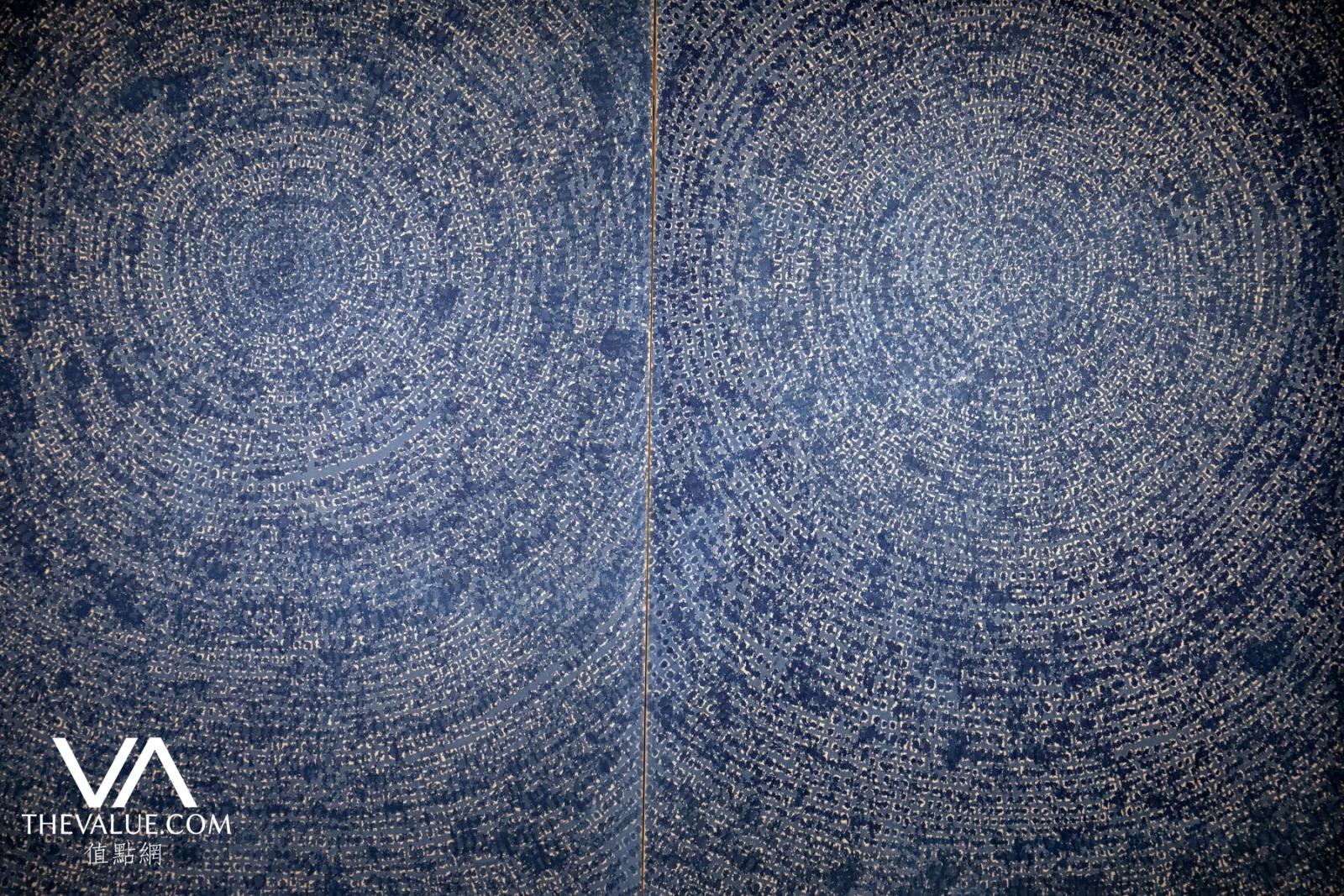 Bức Vũ trụ của Kim Hwan Gi. Ảnh: TheValue.