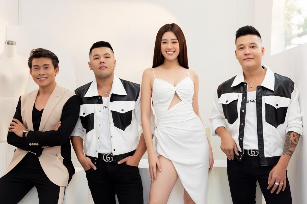 Êkíp xây dựng hình ảnh cho Khánh Vân tại Miss Universe 2020