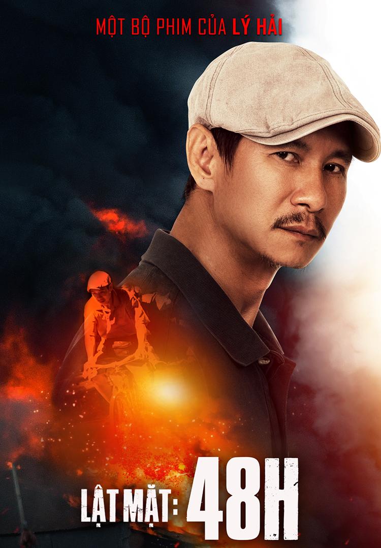Lý Hải đạo diễn kiêm sản xuất và đóng một vai phụ trong Lật mặt: 48h. Ảnh: Lê Tuấn.