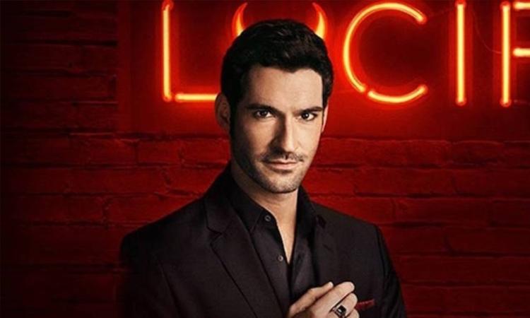 Diễn viên Tom Ellis trong vai chúa quỷ Lucifer. Ảnh: Waner Bros.