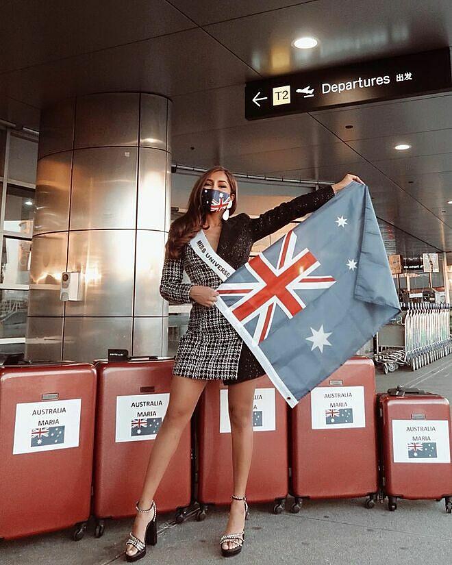 Hoa hậu Australia - Maria Thattil. Ảnh: Mariathattil Instagram.