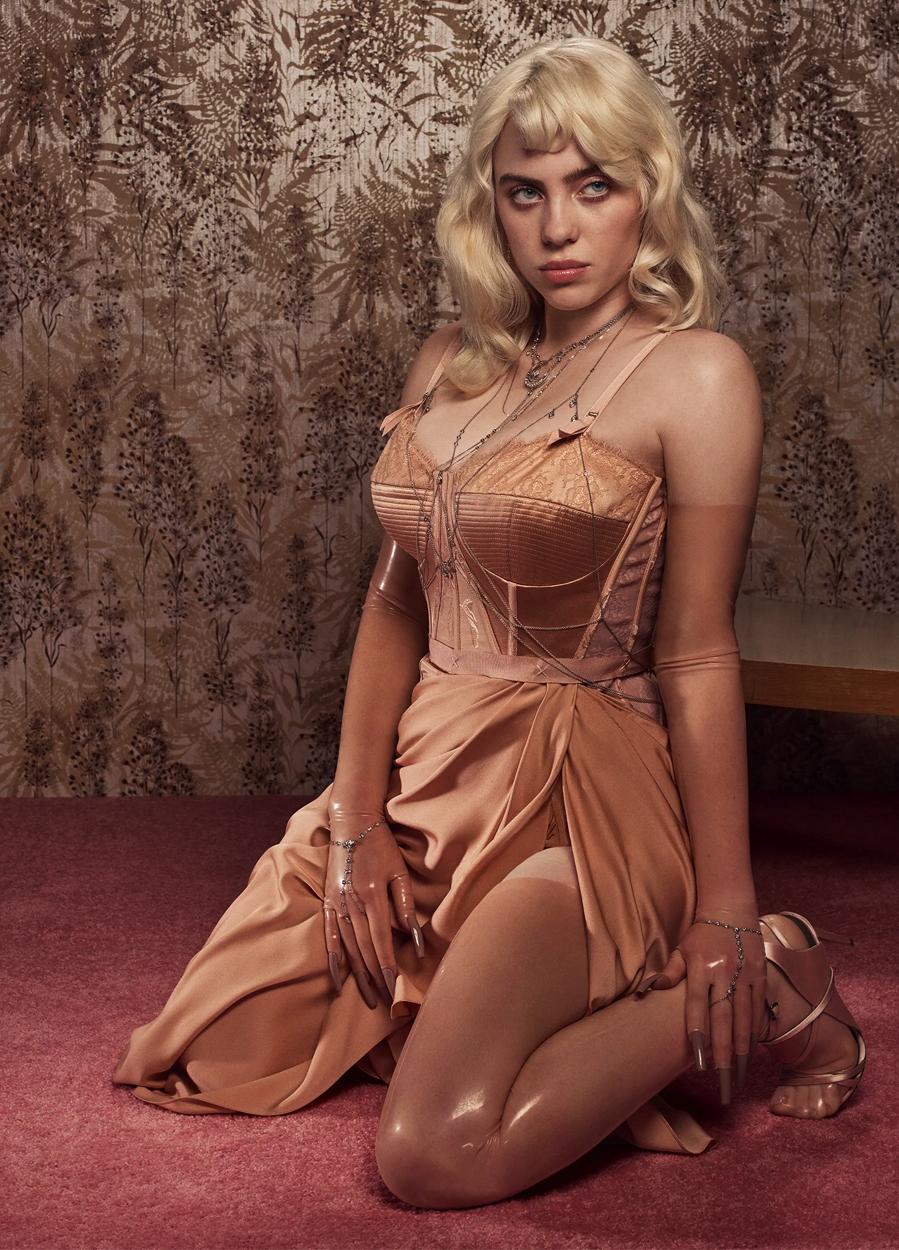 Ca sĩ Billie Eilish. Ảnh: Vogue.