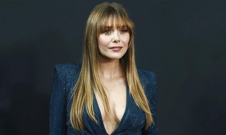 Nữ diễn viên Elizabeth Olsen, nổi tiếng với vai Scarlet Witch trong vũ trụ điện ảnh Marvel. Ảnh: AP.
