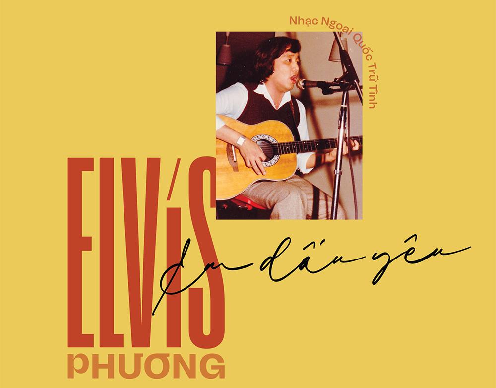 Bìa đĩa Em dấu yêu kỷ niệm 60 năm của Elvis Phương. Ảnh: Times Records.