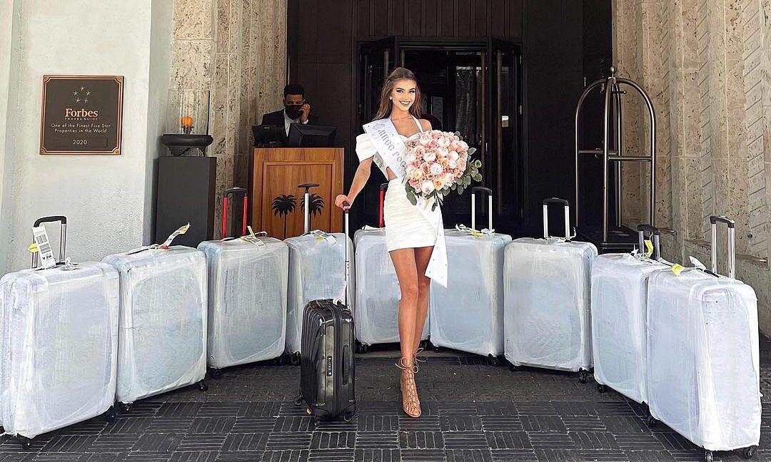 Sanko khi tới Miami, Mỹ. Ảnh: Instagram Alina Sanko.