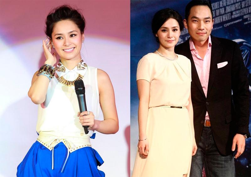 Năm 2013, Chung Hân Đồng thực hiện nhiều dự án phim, âm nhạc. Cô quảng bá album tại Bắc Kinh, Trung Quốc (trái), cùng bạn trai lúc bấy giờ Tyler Kwon - dự buổi công chiếu phim tại Hàn Quốc. Tyler Kwon là doanh nhân Mỹ gốc Hàn, anh chia tay người đẹp Hong Kong hồi tháng 5/2013.