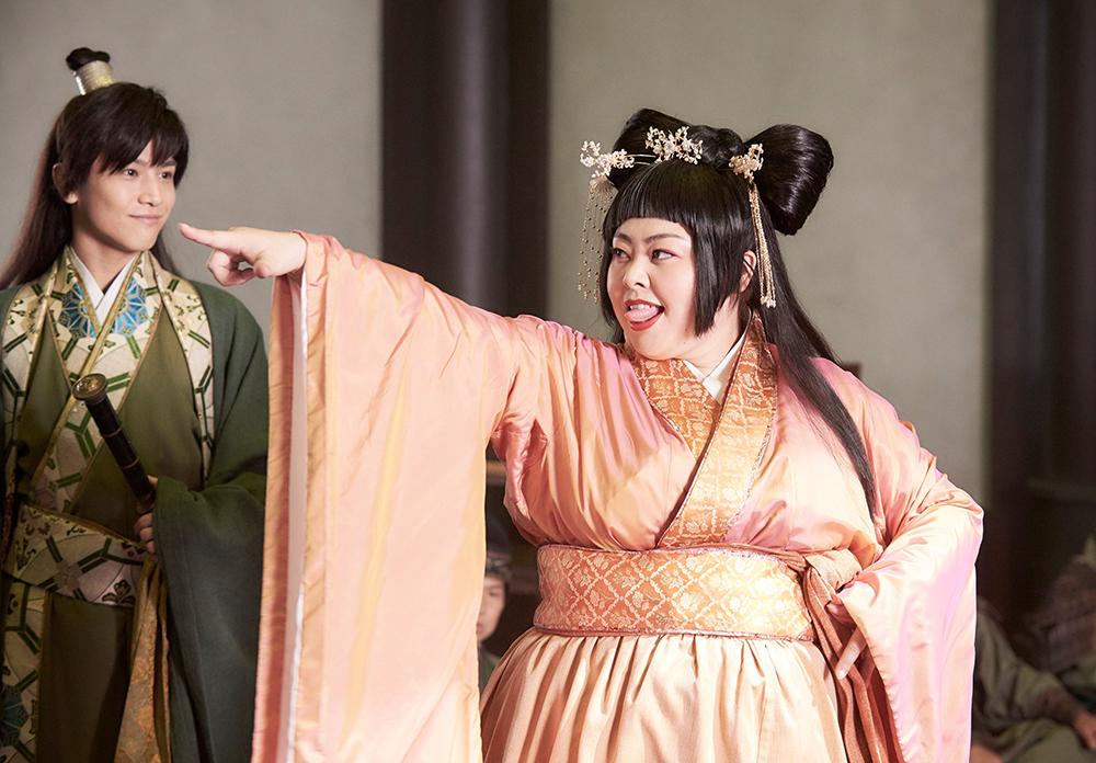 Naomi Watanabe, danh hài Nhật Bản nặng 100 kg, đóng Điêu Thuyền trong Diễn giải mới về Tam Quốc chí