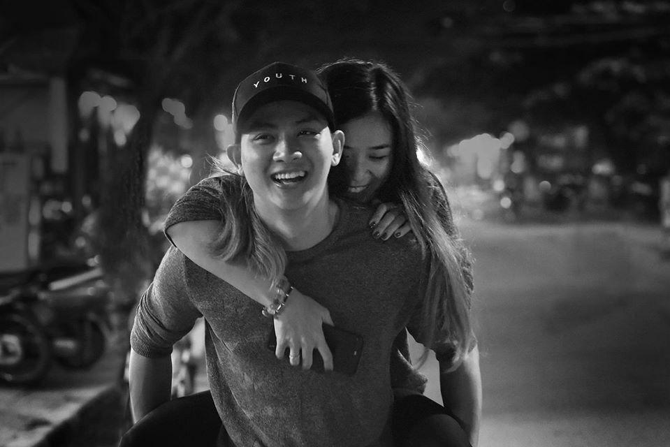 Hoài Lâm và Bảo Ngọc từng có gần 10 năm yêu và kết hôn. Ảnh: Facebook Cindy Lư.