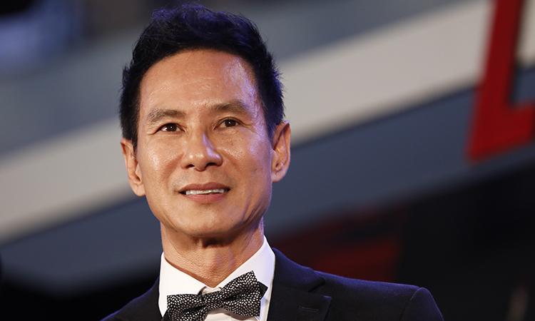 Lý Hải tại buổi ra mắt phim Lật mặt 5 hôm 14/4 tại TP HCM. Ảnh: Hữu Khoa.