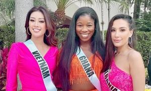 5 ngày đầu của Miss Universe
