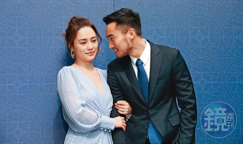 Chung Hân Đồng giúp chồng quảng bá thẩm mỹ viện năm 2019. Ảnh: Mirrormedia.